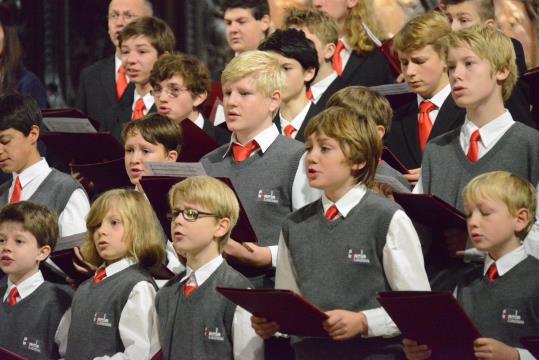 Concert del cor de la catedral de Münster a Vilafranca