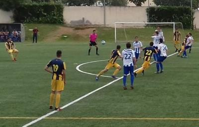AT. Sant Just - CF Vilanova. Eduard Calabria