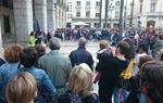 Centenars de persones es concentren a Vilanova i la Geltrú en rebuig a la sentència de 'La Manada'