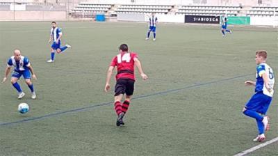 CF Vilanova – EFAC Almacelles. Fede Carrasco