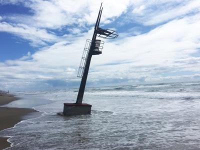 Costes anuncia una aportació de sorra per estabilitzar les platges de Calafell. Ajuntament de Calafell