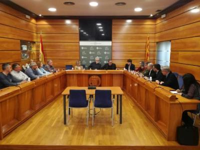 El Pacte de Berà es renueix amb el responsable de coordinar amb Adif i Renfe els plans per Rodalies. Ajuntament del Vendrell