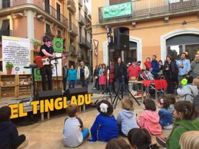 El Tingladu prepara un cap de setmana de concerts a l'aire lliure al maig per presentar el festival. El Tingladu