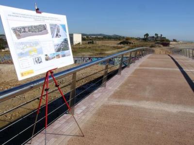 El Vendrell adjudica l'execució del projecte que dóna continuïtat a la passarel·la de les Madrigueres. Ajuntament del Vendrell