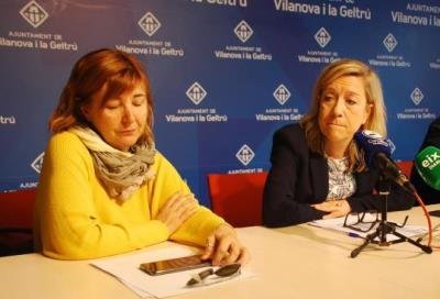 Glòria Garcia i Neus Lloveras. Míriam de Lamo