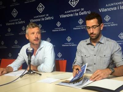 Joan Giribet i Jordi Medina. Ajuntament de Vilanova