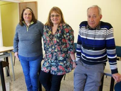 Josep Maria Carbonell, Carolina Pitarch i Carme Vallès són tres de les persones que han presentat la demanda contra AGMA. Ramon Filella