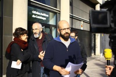 La CUP de Vilafranca porta a Antifrau els indicis d'irregularitats en la promoció dels pisos del carrer Migdia. CUP Vilafranca