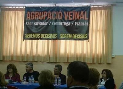 L'Agrupació Veïnal de Coma-ruga, Sant Salvador i El Francàs es presentarà a les eleccions municipals de l'any que ve. Ramon Filella