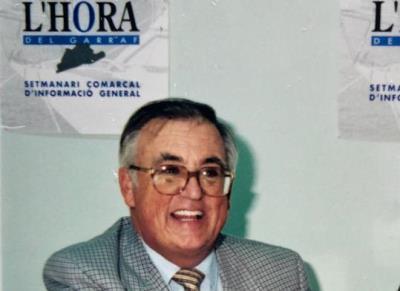 Mor als 80 anys l'empresari vilanoví Sergi Navarro. Carles Castro