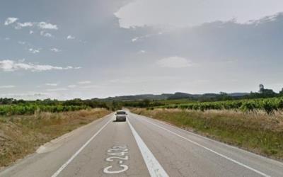 Mor un vianant atropellat de matinada per un turisme a la C-243a a Vilafranca del Penedès. Google Maps