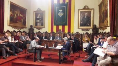 Ple municipal de Vilafranca del Penedès. Roger Vives
