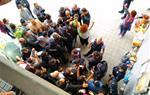 Primer incidents al territori amb la intervenció dels Mossos a l'institut dels Monjos