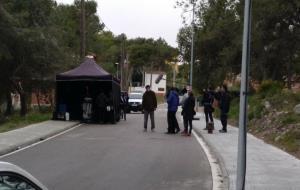 Rodatge de la pel·lícula Sense sostre a Canyelles