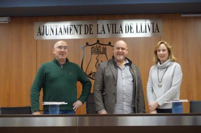 Santa Margarida i els Monjos, Lluçà i Llívia creen l'associació Camí Ramader de Marina. EIX