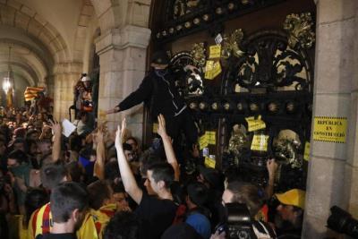Deixen en llibertat el jove detingut a Vilafranca pels aldarulls de la manifestació de l'1-O a Barcelona