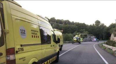 Calafell reclama la retirada dels guarda-rails perillosos a la carretera de la Cobertera