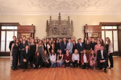 Un total de 44 alumnes reben els Premis Extraordinaris de Batxillerat. Generalitat de Catalunya