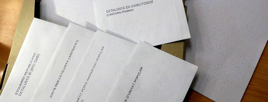 Cubelles crearà un kit pioner per garantir el vot secret dels invidents a les eleccions municipals