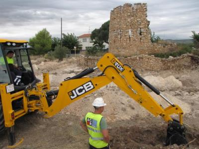 A la recerca d'evidències del castell d'Ungria al voltant de la Torre del Vallès, a Vilanova. Ajuntament de Vilanova