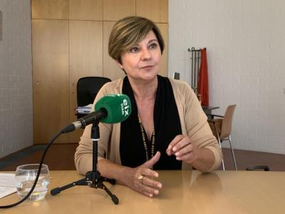 Abigail Garrido, alcaldessa de Sant Pere de Ribes i presidenta del Consell Comarcal del Garraf. EIX