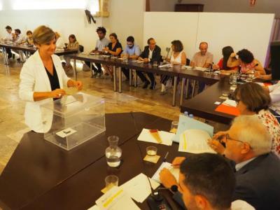 Abigail Garrido, nova presidenta del Consell Comarcal del Garraf gràcies al pacte de PSC i Junts. CC Garraf