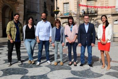Candidats a les eleccions a Vilanova i la Geltrú dels partits amb representació el 2015. ACN
