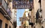 Carrers guarnits al centre de Vilanova