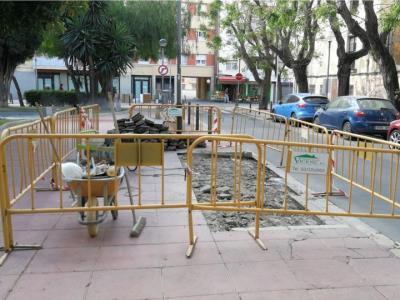 Comencen les obres de pacificació del carrer de la Llibertat, a Vilanova i la Geltrú. Ajuntament de Vilanova