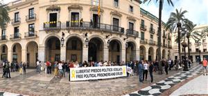 Comencen les protestes al territori per la sentència de l'1-O