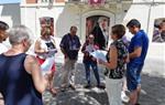 Commemoració del Dia Internacional de l'alliberament lesbià, gai, transsexual, bisexual i intersexual a Sant Pere de Ribes