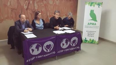El Col·lectiu de Veïns contra la Contaminació i l'APMA porten el cas de Componentes Vilanova a la Fiscalia. Jordi Lleó