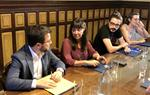 El govern de Vilanova i la Geltrú demana al vicepresident Aragonès que el Govern redueixi el preu del peatge del Garraf. EIX