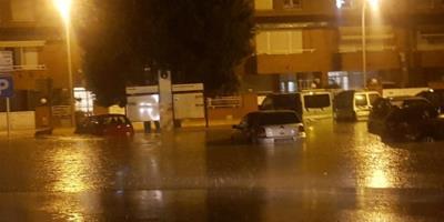 El temporal deixa més de 100 litres per metre quadrat a Sant Sadurní. Ajt Sant Sadurní d'Anoia