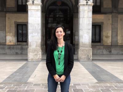 Erika Quintero, alcaldable de Ciutadans a Vilanova i la Geltrú. Júlia Olivé
