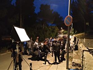 Estopa grava a Sitges el seu nou videoclip Fuego