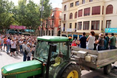 Els viticultors del Penedès mantenen la vaga del 5 de setembre després de reunir-se amb Henkell-Freixenet