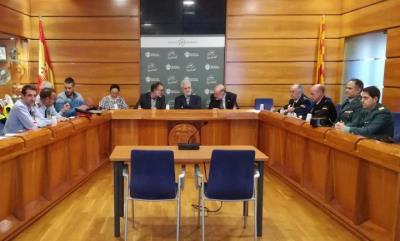 Junta Local de Seguretat al Vendrell. Ajuntament del Vendrell