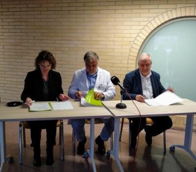 La Fundació Pinnae apropa la música a l'hospital comarcal de l'Alt Penedès. Fundació Pinnae