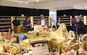 La mostra de maquetes i miniatures El Petit Món d'AXA Tarrada s'obre al públic