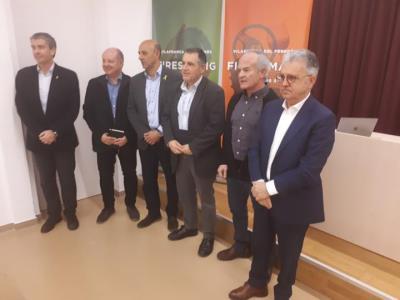 La nova imatge de les Fires de Maig de Vilafranca posen en valor els quatre sector principals. Ajuntament de Vilafranca
