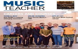 La pianista vilanovina també ha estat portada a la revista britànica Music Teacher del mes d'abril