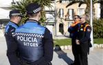 La seguretat privada per combatre el 'top manta' a Sitges comença a actuar en patrulla conjunta amb la policia local