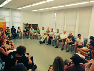 L'assemblea d'Esquerra a Vilanova i la Geltrú avala per unanimitat el pacte de govern amb JxCat i Capgirem-CUP. ERC