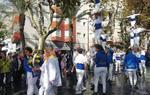 L'ofrena floral al monument a Francesc Macià amb motiu de la Diada ha estat marcada pel to reivindicatiu i de manifestació del discurs de l'alcaldessa