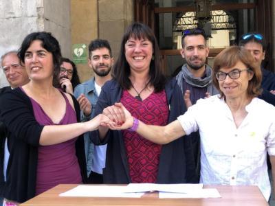 ERC, Junts i la CUP arriben a un acord de govern a Vilanova, que s'ha de ratificar aquest cap de setmana per les assemblees