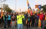 Milers de persones comencen el segon dia de les 'Marxes per la Llibertat' des de Vilafranca del Penedès