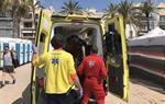 Mor un banyista de 82 anys a la platja, a Sitges