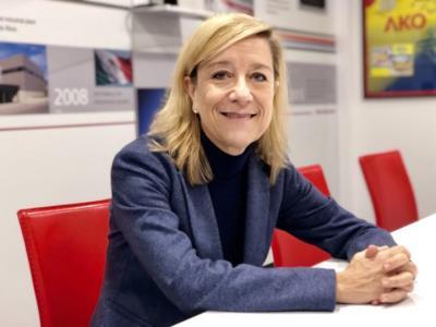 Neus Lloveras, presidenta de la Federació Empresarial del Gran Penedès. EIX