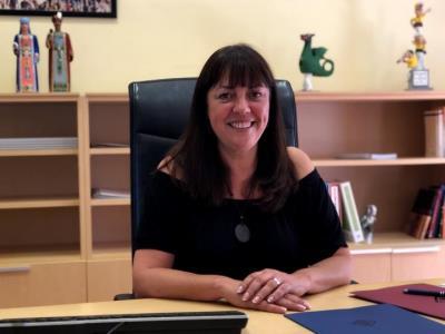 Olga Arnau (ERC), nova alcaldessa de Vilanova . EIX